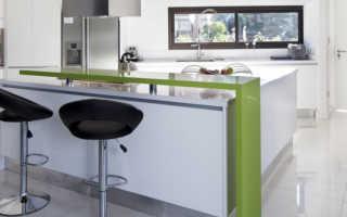 Высота барной стойки на кухне от пола: как установить своими руками, размеры