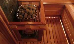 Электрическая печь для бани с парогенератором
