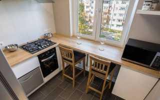 Подоконник столешница на кухне: использование окна в интерьере гарнитура