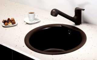Круглая мойка для кухни: овальная кухонная раковина, размеры, производители