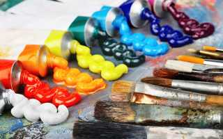 Характеристики масляных красок