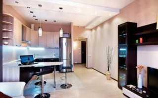 Кухня – гостиная: 18 кв м, 19 кв м, дизайн интерьера, реальные фото