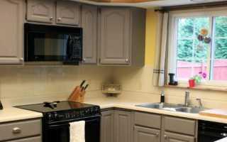 Как обновить кухонный гарнитур: обновление старого гарнитура своими руками