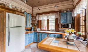 Кухня в деревенском стиле + фото