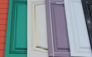 Покраска фасадов кухни своими руками, выбор краски для кухонного фасада