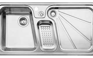 Какая раковина лучше для кухни — каменная или нержавейка, какую мойку выбрать