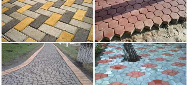 Тротуарные плиты: виды, способы производства и укладка