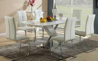 Стол обеденный классика: современный гарнитур в кухонном интерьере