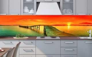 Кухонный фартук с фотопечатью: стеновые панели пластиковые и акриловые с рисунком