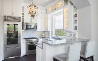 Барная стойка для кухни: дизайн и оформление современного интерьера