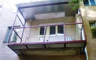 Как увеличить балкон в хрущевке своими руками