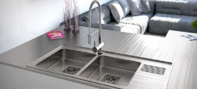 Мойка для кухни: раковина кухонная, эмалированная, стеклянная, акриловая