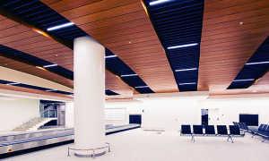 Подвесные потолки из оцинкованной стали, металлический потолок