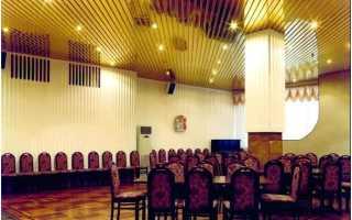 Потолок реечный: Бард, Сesal