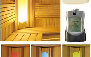 Светильник в баню своими руками: фото