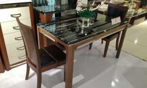 Кухонный стол из искусственного камня: мраморный стол для кухни, описание