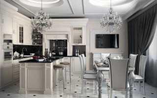Дизайн кухни в стиле арт-деко