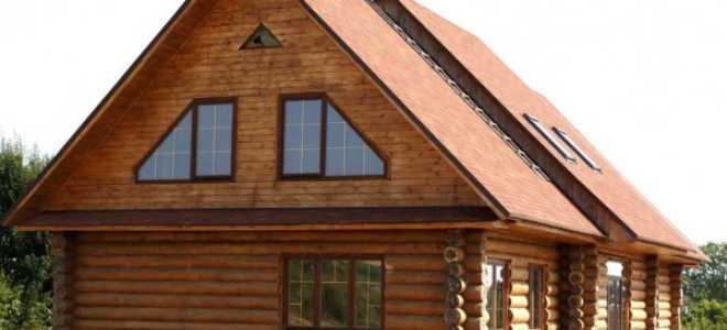 Как сделать фронтон крыши деревянного дома