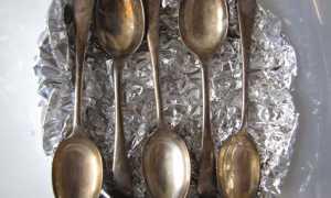 Как почистить ложки и вилки чтобы блестели, какой способ чистки выбрать