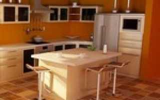 Из чего лучше сделать пол на кухне: комбинированный, пробковый или деревянный