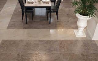 Плитка для кухни на пол: керамическая, кафельная, с рисунком, под мрамор