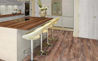 Ламинат на кухню: какой лучше выбрать, можно ли класть ламинат на кухне
