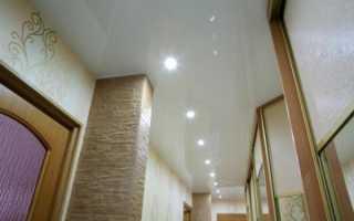 Дизайн натяжных потолков для прихожей