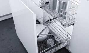 Выдвижной шкаф для кухни: выкатные системы для кухонных шкафов на колесиках