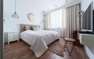 Потолки из гипсокартона – фото для спальни: дизайн с подсветкой над кроватью
