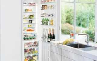 Установка встроенного холодильника: какая схема встраивания и размеры фасадов