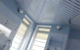 Монтаж реечного потолка: устройство, размеры, толщина, направляющие, подвесы