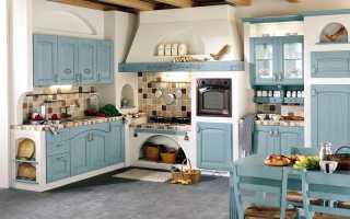 Кухня в стиле кантри + фото