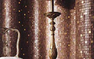 Мозаика: виды и характеристика