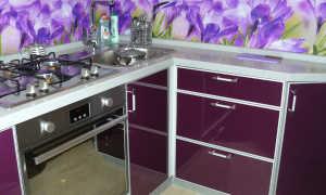 Кухня баклажан в интерьере: фото, сочетание с другими цветами, мебель