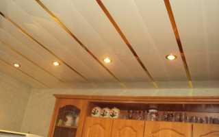 Панели на потолок на кухню: пластиковые, ПВХ, МДФ, сделать своими руками