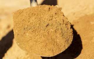 Песок для штукатурки стен