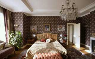 Спальня в английском стиле + фото