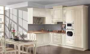 Кухня классика угловая: маленькие и светлые кухонные гарнитуры – особенности