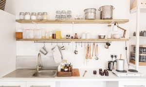 Полки на кухню своими руками: как сделать и повесить навесную деревянную полочку