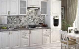 Модульные кухни: белый кухонный гарнитур – размеры, производители