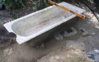 Печь из старой чугунной ванны своими руками
