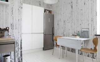 Обои для кухни: фото дизайна