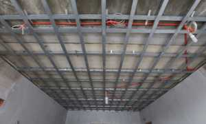 Подвесной потолок из гипсокартона: виды, устройство, каркас, монтаж