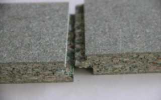 Укладка ДСП на бетонный пол