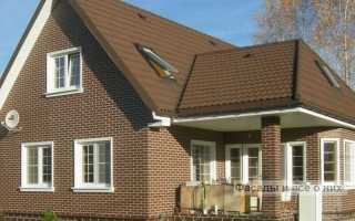 Керамическая клинкерная плитка для фасада