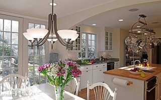 Люстры для кухни + фото