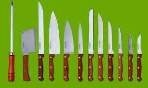 Виды кухонных ножей: какие бывают формы ножей и для чего они предназначены