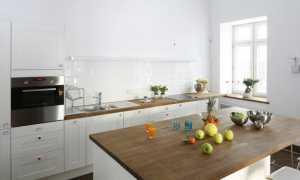 Кухня без верхних шкафов: дизайн кухонного гарнитура в современном интерьере