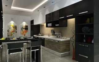 Потолок на кухне: какой потолок лучше сделать реечный, подвесной, деревянный