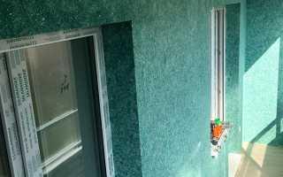 Жидкие обои на балконе: фото и отзывы